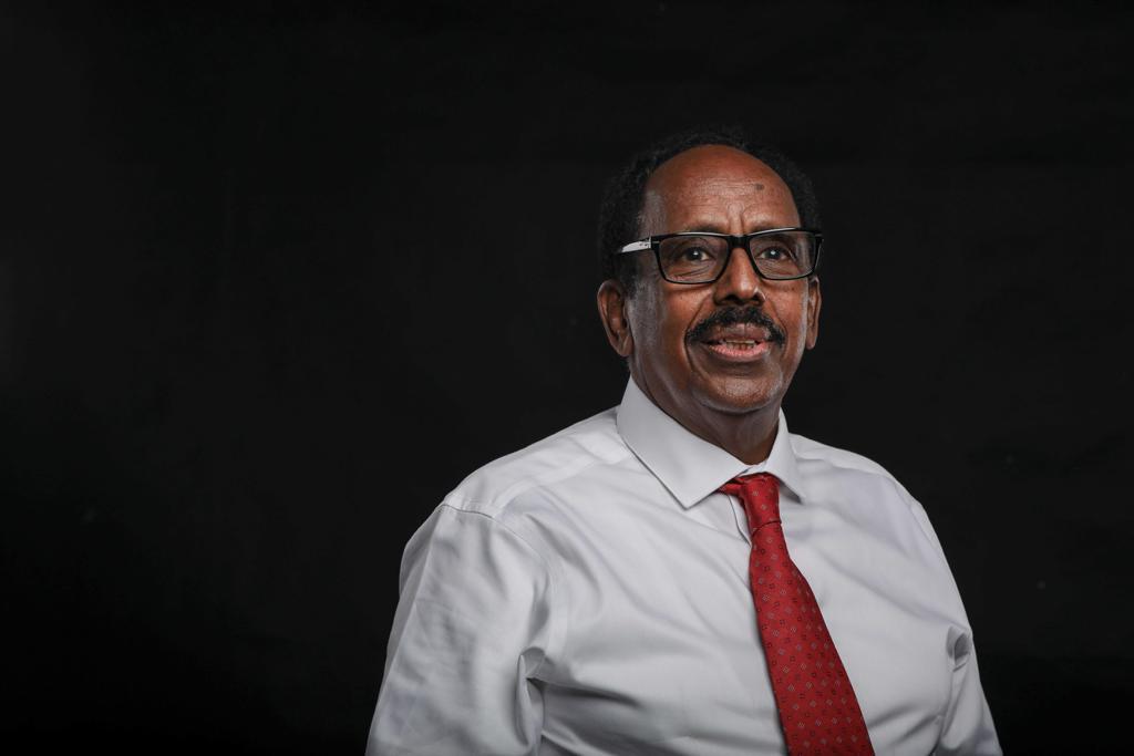 A poet seeks a line in Somalia presidency