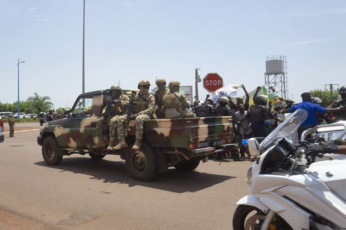 Facing questions abroad, junta in Mali cements home legitimacy