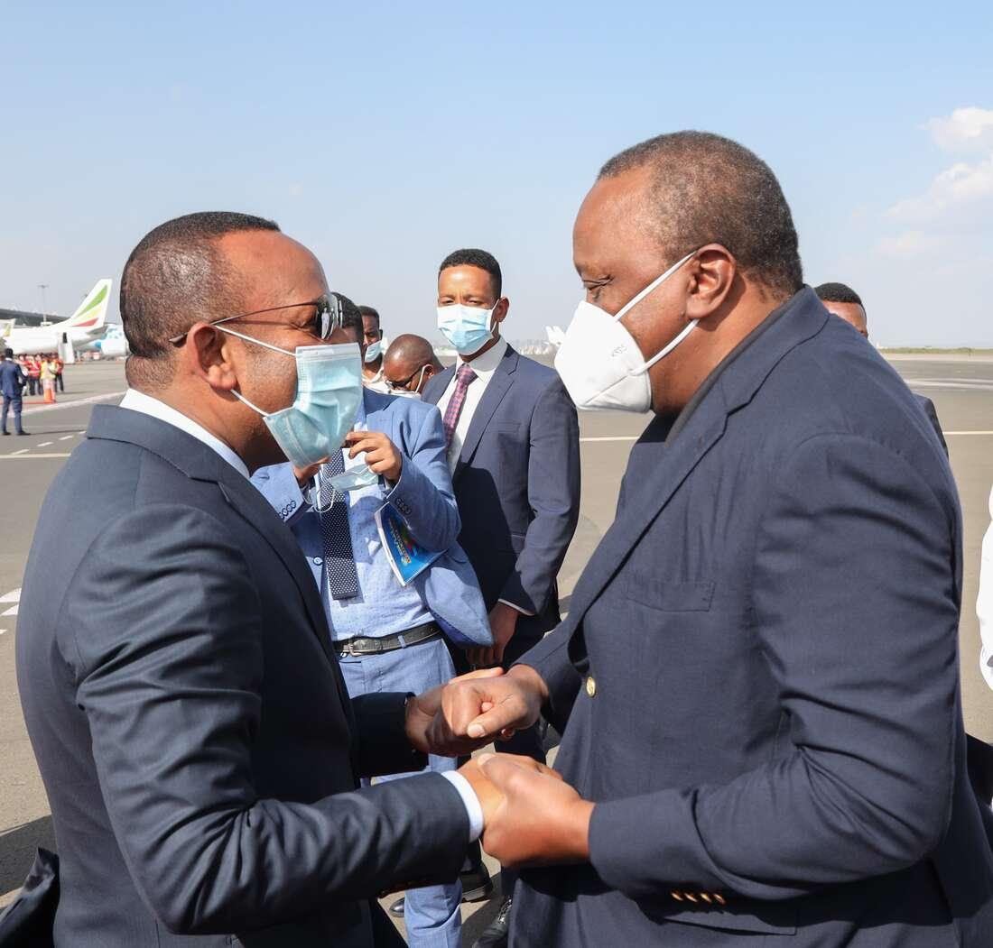 Uhuru Kenyatta urges Ethiopia to open up market for M-Pesa