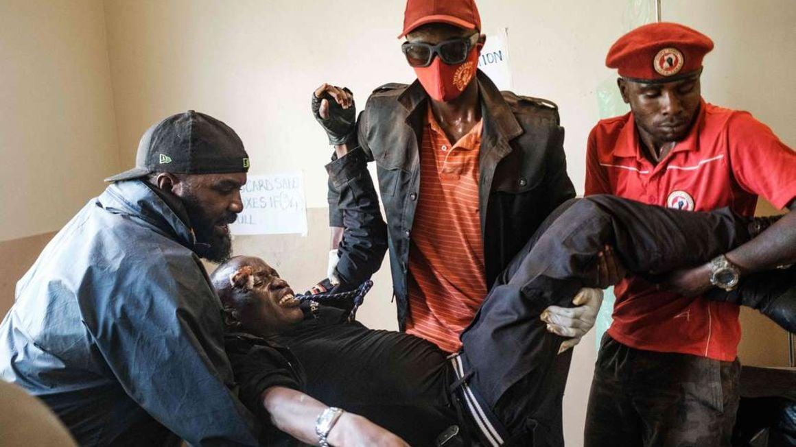 Bobi Wine election campaign.