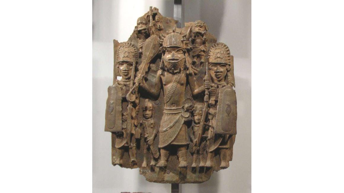 Benin bronze.