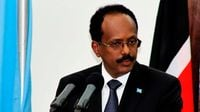 Somali President Mohamed Farmaajo.